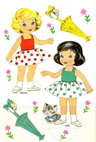 Friends Paper Dolls - free paper dolls