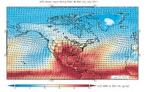 wind map nasa nasa satellite observes unusually july in the