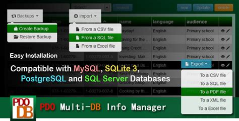 magento custom layout update exles php scripts pdo multi db info manager codecanyon