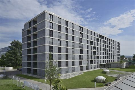 Appartments In Geneva by Student Housing In Geneva Rezakhanlou Architects