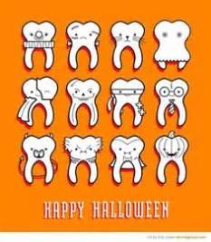 imagenes halloween odontologia personaje de dibujos animados diente musculoso sonriente