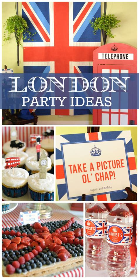 themes jack london union jack birthday quot quot london calling quot 2nd birthday party