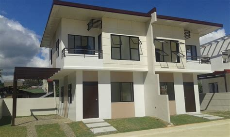 duplex house for sale malibu residences duplex house for sale talisay city cebu dream investment