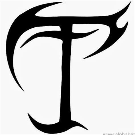 tattoo fonts letter t tattoo lettering alphabet fonts