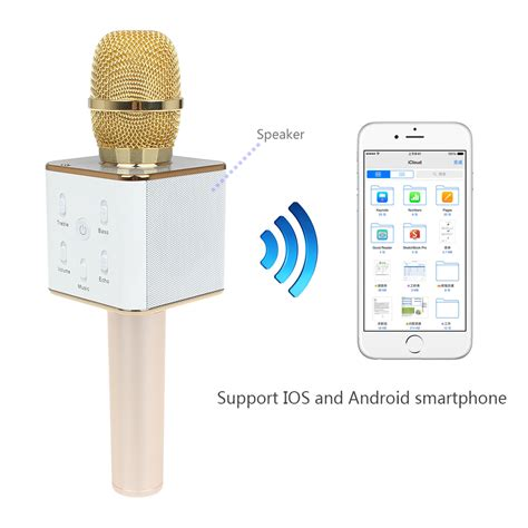 Smartphone Mini Mobile Karaoke Microphone For Iphone Android And Pct buy wholesale bluetooth microphone karaoke from china bluetooth microphone karaoke