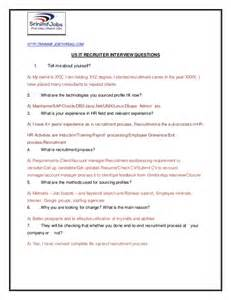 Resume Questions To Ask us it recruiter interview questions