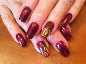 fall nail art nails pinterest