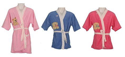 Handuk Kimono Polkadot Biru Muda jual handuk kimono mandi anak anak uk 8t polos ag