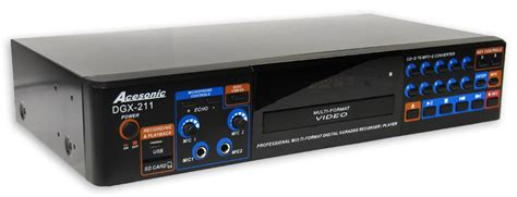 karaoke format converter acesonic dgx 211 hdmi multi format karaoke player with 4x