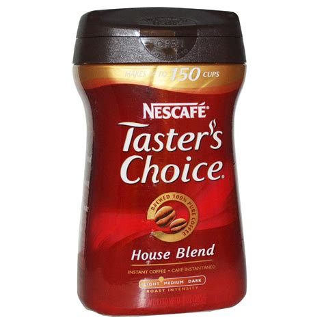 Nescafé, Taster's Choice, Instant Coffee, House Blend, 10 oz (283 g)   iHerb.com