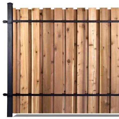 home depot decorative fence wood fence panels wood fencing the home depot