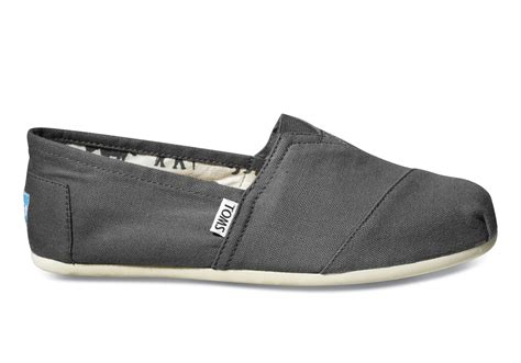 toms shoes ash canvas s classics toms