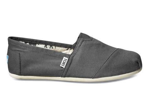 toms sneakers ash canvas s classics toms