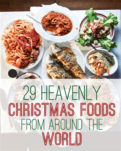 foods from around the world 29 heavenly christmas foods from around the world