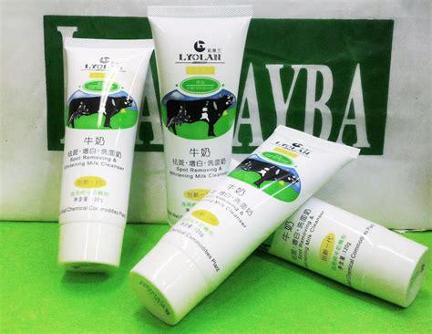 Lyolan Spot Removing Whitening Milk Pore Cleanser Cleansing laa rayba shop lyolan cleanser pembersih komedo