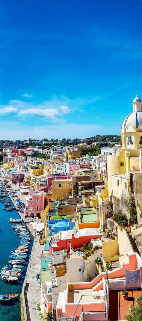 of naples italy procida island in naples italy is absolutely breathtaking