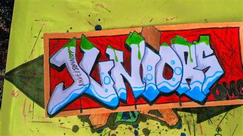 imagenes que digan junior el graffiti de juniors andersonmvp youtube