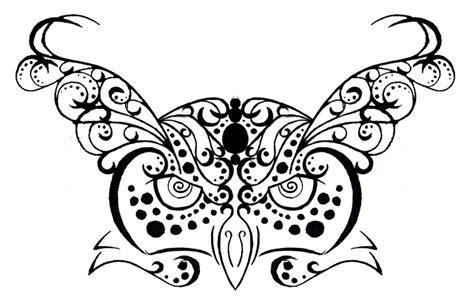 owl henna tattoo tumblr owl tribal henna design tattoomagz