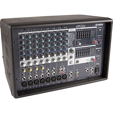 Power Mixer Lifier Yamaha yamaha emx512sc powered mixer musician s friend