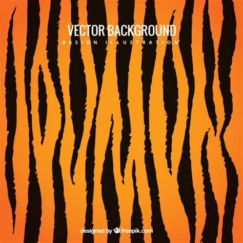 pattern tiger ai tiger print background vector premium download