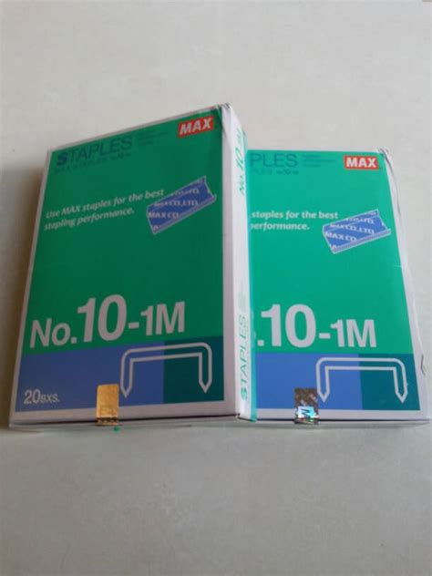 Staples No 10 Kecil by Jual Isi Staples Max Kecil No 10 1m Refill Stapler No