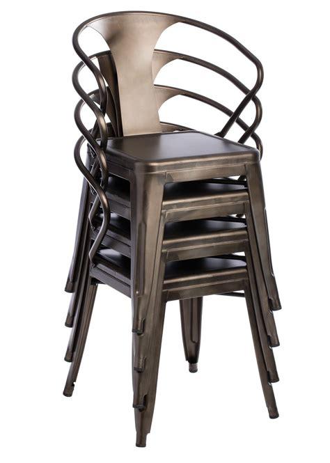 metal dining room chairs ebay vintage metal chairs 4 set modern industrial kitchen bar