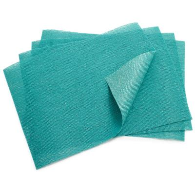 Turquoise Place Mats by Chilewich Seaglass Mediterranean Placemat Everything