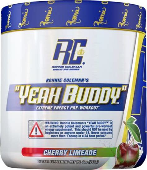 Yeah Buddy Ronnie Coleman Signature Series Yeah Buddy At Bodybuilding