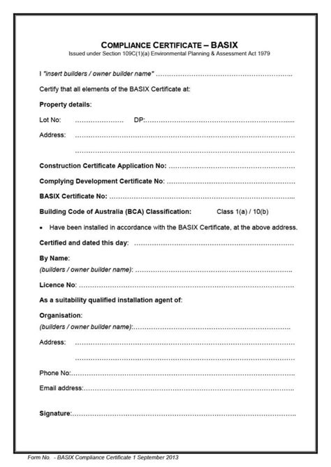 letter of conformance template compliance certificate templates blank certificates