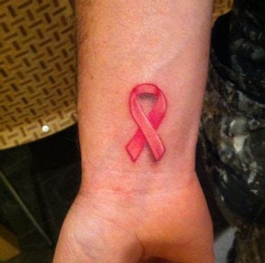 breast cancer wrist tattoos 10 awesome tattoos for breast cancer awareness the stir