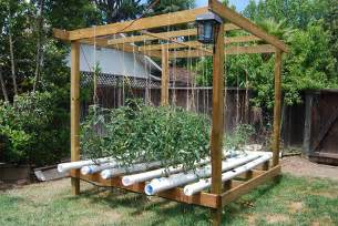 Raised Bed Tomato Trellis 5 Great Vegetable Garden Ideas