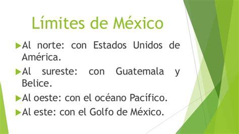 limite seguro en estado de mexico fronteras o l 237 mites de m 233 xico 1