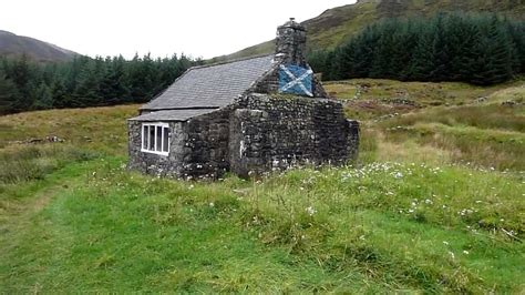 Forest Mba Closing by White Laggan Bothy Galloway Forest Park Grid Ref