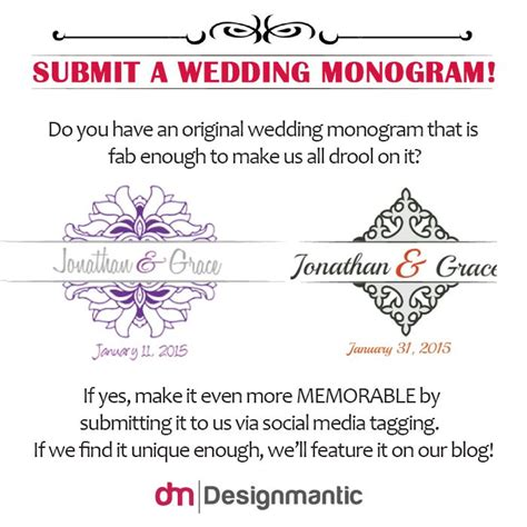 designmantic wedding monogram 17 best images about wedding monograms on pinterest high