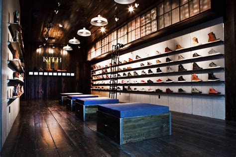 sneakers shop kith shoe store by cleanroom 187 retail design