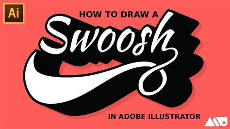 how to doodle in illustrator how to draw a swoosh in adobe illustrator tutorial