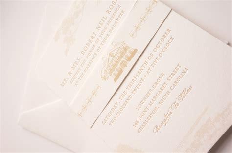 Wedding Invitations Charleston Sc by Plantation Wedding Invitation Charleston Sc By Dodeline