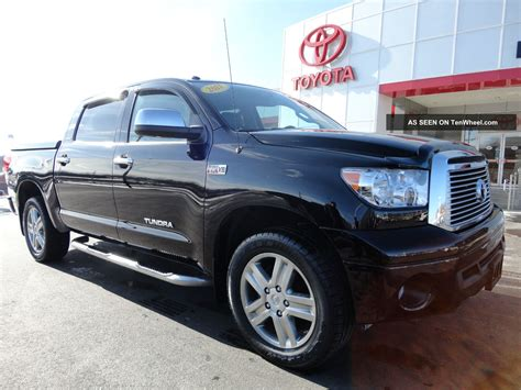 2011 Toyota Tundra Specs Specifications 2011 Toyota Tundra Crewmax 4x4 Limited 5