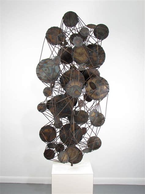 Floor Sculptures Decor by Room Sized Floor Sculpture Composed Of Steel