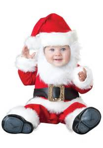 Infant Halloween Costumes Santa Baby Costume