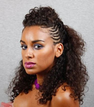 african american hair braiding styles natural curly african american women long curly braided nautral