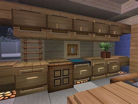 minecraft interior design kitchen 1 4 2 new interior design concept minecraft project