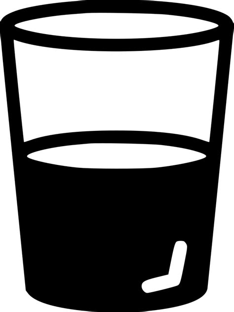 Water Glass Beverage Svg Png Icon Free Download (#478760