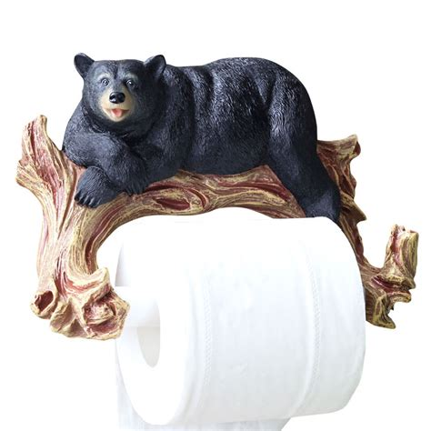 animal toilet paper holder bear toilet paper holder animal unique wall mount