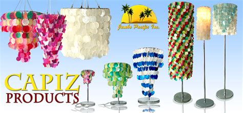 Handmade Chandeliers Lighting The Collection Of Philippine Capiz Product Like Capiz Lamp