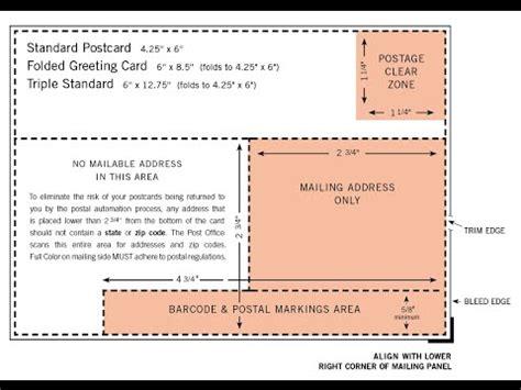 6x4 postcard template postcard guidelines usps postal regulations postcard