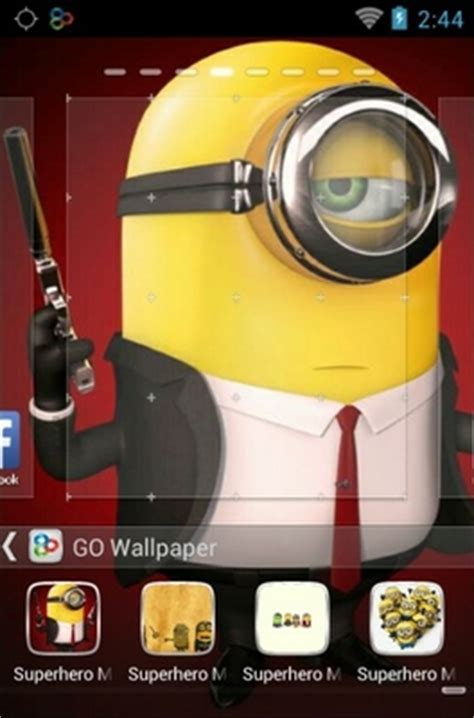 themes android minions super hero minions android theme for go launcher