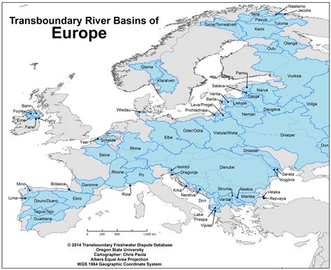 world river watershed map database water conflict management and transformation at osu