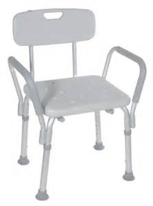 drive shower chair with back and removable arms 300 lbs