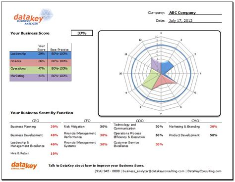 business analysis report